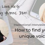 How to find your unique voice
